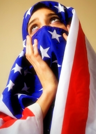 Americanflagburka