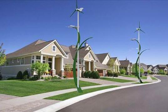 Solar-wind streetlamp