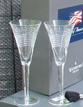 Wtaterford Spit of America Champaign Flutes