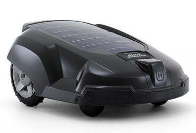 Solar auto lawnmower