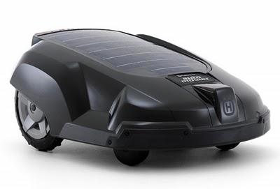 Solar auto lawnmower