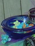 Kosta Boda Crystal Large Atoll Bowl