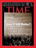 TIme magazine = constitution
